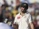Australia's Ed Cowan in action against South Africa on December 2, 2012