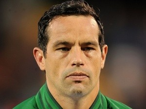 Rep of Ireland 'keeper David Forde before his debut on September 9, 2012