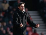 Southampton boss Mauricio Pochettino on the touchline during the match against Chelsea on March 30, 2013