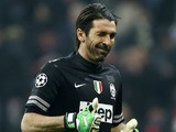 Juventus goalkeeper Gianluigi Buffon during the Champions League quarter final with Bayern Munich on April 2, 2013