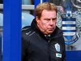 QPR boss Harry Redknapp in the dugout during the match against Wigan against Fulham on April 7, 2013