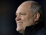 Fulham boss Martin Jol before kick-off against QPR on April 1, 2013
