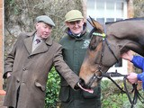 Ballabriggs with owner Trevor Hemmings on January 17, 2012