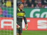Dortmund goalkeeper Roman Weidenfeller in action on November 10, 2012