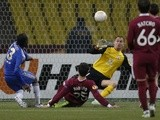 Chelsea's Victor Moses scores against Rubin on April 11, 2013