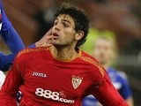 Sevilla's Federico Fazio in action on December 18, 2008