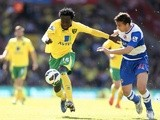 Norwich' Kei Kamara in action against Reading on April 20, 2013