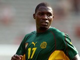 Cameroon's Marc Vivien Foe during the Confederations Cup on June 26, 2003