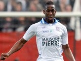 Auxerre defender Willy Boly in action against Nice on April 21, 2012