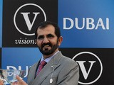 Sheikh Mohammed Al Maktoum head of Godolphin on October 13, 2012