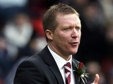 Heart's manager Gary Locke during the Scottish Communities League Cup Final on March 17, 2013