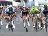 British standout Mark Cavendish sprints to win the opening stage of the Giro d'Italia on May 4, 2013