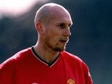 Jaap Stam in action for Manchester United in 2001