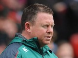Leicester Tigers head coach Matt O'Connor during the match with Bath on May 5, 2012