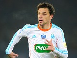 Marseille's Michel Lucas Mendes during the match against PSG on February 27, 2013
