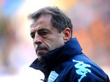 Racing Metro 92 head coach Pierre Berbizier during the Heineken Cup match with Cardiff Blues on January 22, 2012