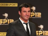 Joe Calzaghe arrives at the Sports Personality of the Year Awards 2012 on December 16, 2012