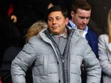 Southampton chairman Nicola Cortese in the stands on April 13, 2013
