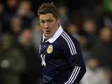 Scotland's Kris Commons in action on February 6, 2013