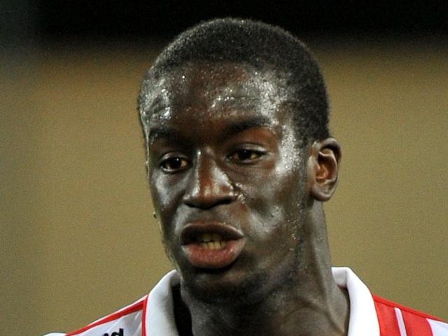Nancy's Salif Sane playing against Montpellier on October 29, 2011