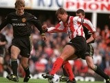 Southampton legend Matt Le Tissier plays against Man Utd on May 8, 1998