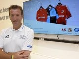 Matt Le Tissier at a Samsung event.