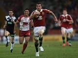 British & Lions captain Sam Warburton in action against Queensland on June 8, 2013