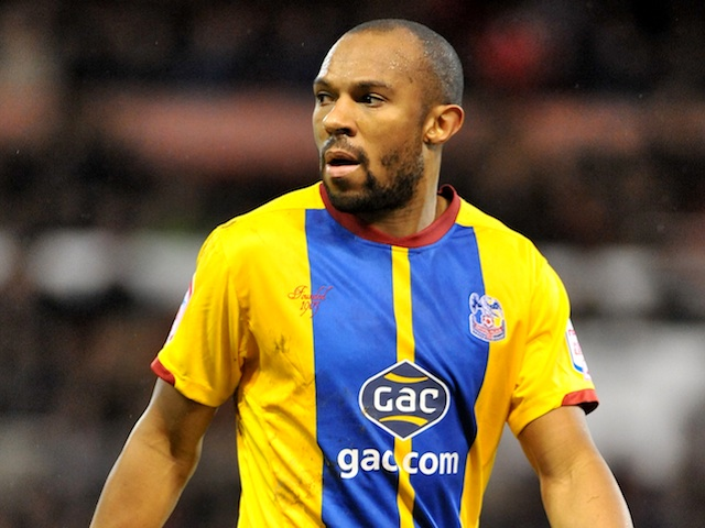 Palace defender Danny Gabbidon in action against Forest on December 29, 2012