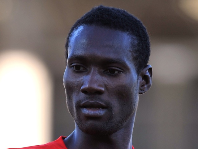 Nantes' Ismael Bangoura photographed playing for Rennes on August 28, 2010