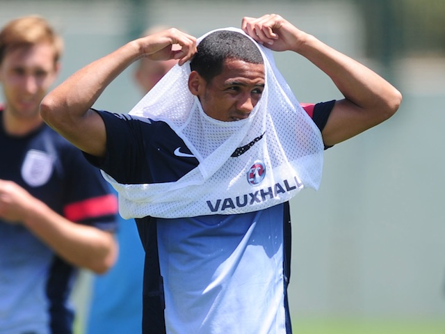 England u21s Thomas Ince during a training session on June 7, 2013