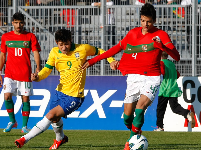 Portgual's Tiago llori during the Under 21 match against Brazil on June 2, 2013