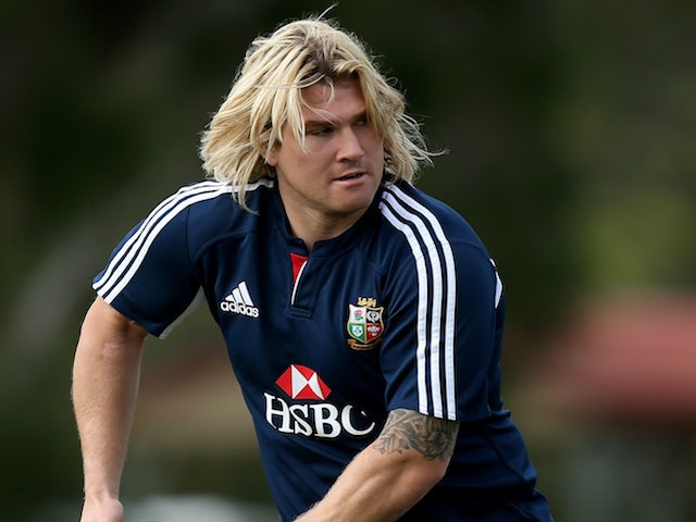 Lions' Richard Hibbard during a training session on June 7, 2013