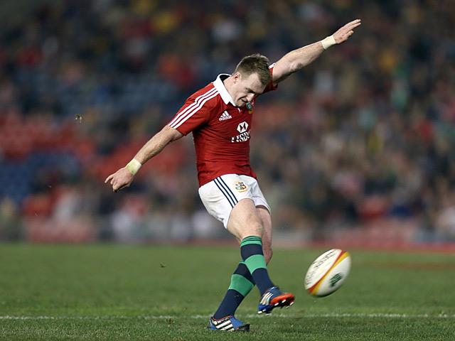 British & Irish Lions' Stuart Hogg in action on June 11, 2013
