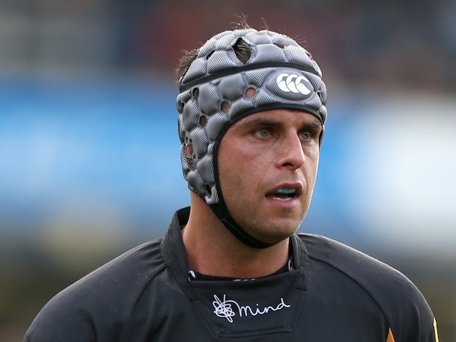 Wasps' Marco Wentzel in action against Worcester on October 7, 2012