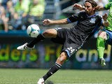 San Jose Earthquakes' Alan Gordon in action on May 11, 2013