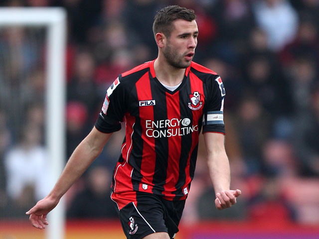 Bournemouth's Steve Cook during the match against Bury on March 23, 2013