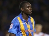 Shrewsbury defender Jermaine Grandison in action against MK Dons on November 20, 2012