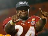 Florida State Seminoles' Lonnie Pryor on January 1, 2013