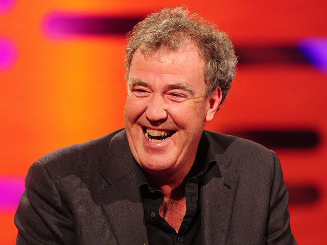 Jeremy Clarkson during the filming of the Graham Norton Show at The London Studios on November 29, 2012