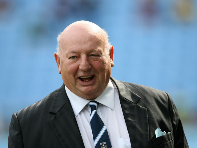 Coventry City's New Life Chairman John Sillett during the game against Watford on August 20, 2011
