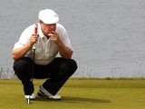 Chris Doak at the Scottish Open on July 12, 2013