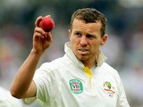 Australia's Peter Siddle after England's innings during day one of the First Ashes Test on July 10, 2013