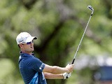 Zach Johnson in action during the John Deere Classic golf tournament on July 13, 2013