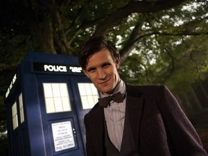 Matt Smith as The Doctor in Doctor Who