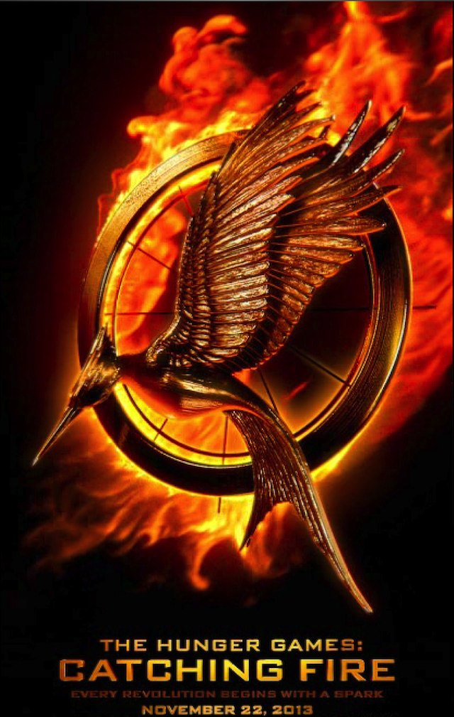 Poster for The Hunger Games: Catching Fire (640w)