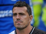 Brighton and Hove Albion Head Coach Oscar Garcia during the pre-season friendly match against Villareal on July 27, 2013