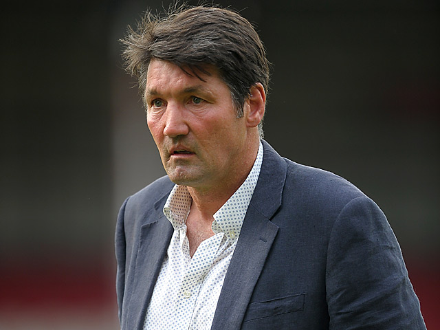 Millwall's first team coach Mick Harford on July 16, 2013