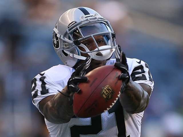 Oakland Raiders' Ron Bartell in action on August 30, 2012
