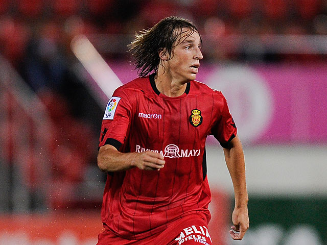 Mallorca's Tomas Pina in action on September 1, 2012