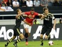 United's Robin Van Persie in action against AIK on August 6, 2013
